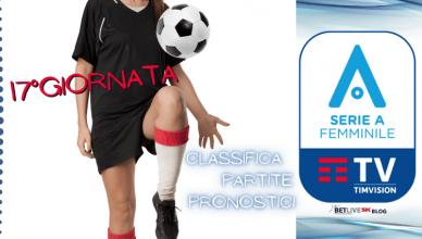 17GIORNATA-CALCIO-FEMMINILE-SERIE-A-CLASSIFICA-PARTITE-PRONOSTICI-2021-BETLIVE5K