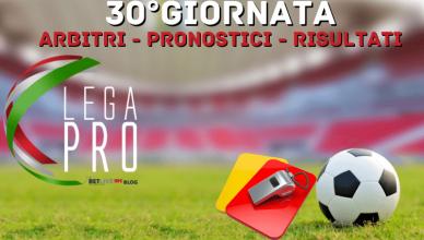 ARBITRI-PRONOSTICI-RISULTATI-30GIORNATA-LEGA-PRO-GIRONE-C-BETLIVE5K