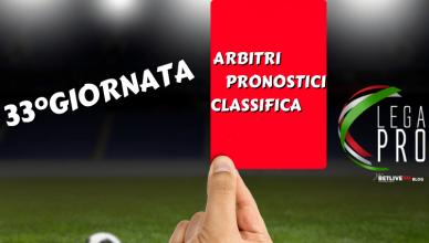 ARBITRI-PRONOSTICI-RISULTATI-33GIORNATA-LEGA-PRO-GIRONE-C-BETLIVE5K