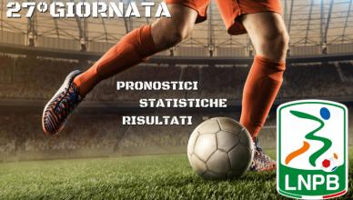 PRONOSTICI - STATISTICHE - RISULTATI- SERIE-B-27GIORNATA-BETLIVE5K