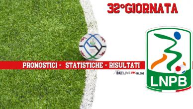 PRONOSTICI - STATISTICHE - RISULTATI- SERIE-B-32GIORNATA-BETLIVE5K
