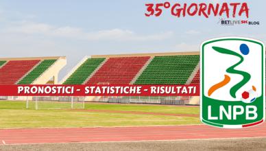 PRONOSTICI - STATISTICHE - RISULTATI- SERIE-B-35GIORNATA-BETLIVE5K