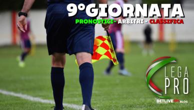 9°GIORNATA-LEGA-PRO-PRONOSTICI-DESIGNAZIONI-ARBITRALI-CLASSIFICA-GIRONE-C-BETLIVE5K